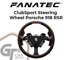Fanatec - Clubsport Steering Wheel Porsche 918