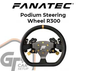 Fanatec - Podium Steering Wheel R300
